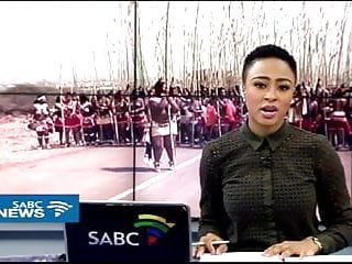Hundreds of cocks one overworked pussy Just normal african news with hundreds of topless titties