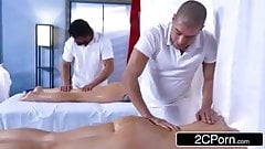 Massage with   sister