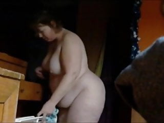 Cum covered belly movies Ugly wife need to cover her saggy tits and belly.
