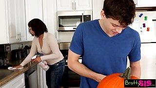 Put it in a pumpkin.