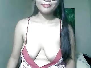 Asian cam shaven Very cute vietnamese with nice saggy tits and shaven puss