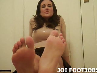 Take my penis in your hand Slide your hand cock between my smooth feet joi