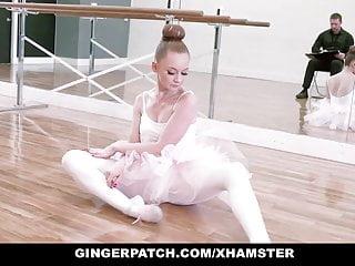 Judge spanked inmates Gingerpatch- ginger ballerina athena rayne fucks dance judge