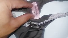 Dirty used panty thong from Colombian neighbor