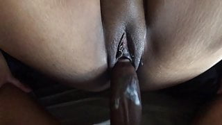 BBC Deep Strokes Juicy Hairless Pusey with Clit Piercing