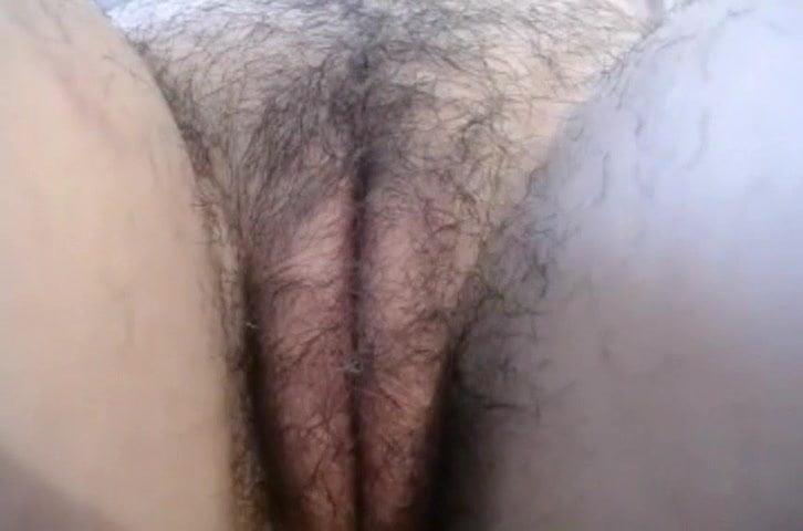 Hairy Mature Close Up