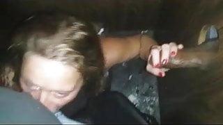 Girlfriend blows her man while giving a BBC a GH HJ