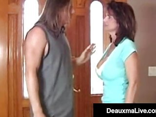 Fun asian bookie In debt cougar deauxma fucks hard cock bookie to repay bet