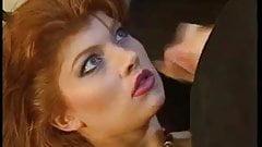 redhead german slut sucks hard cock for facial