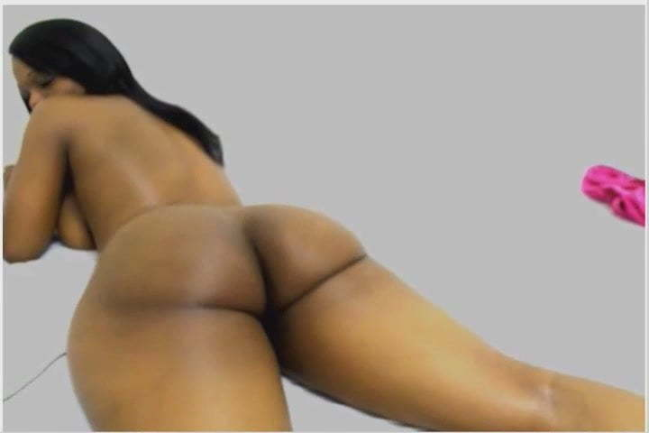Ebony Big Ass Solo Twerk