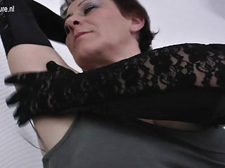 Categoized old cunt Hairy mature mom shakes her old cunt