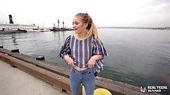 Adolescentes reales - rubia colorado adolescente scarlett fall se la follan