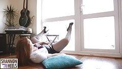 Married Cumslut Begs for Gardener's Spunk - Shannon Heels