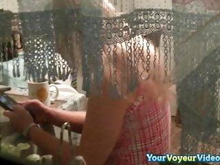 Peeping voyeur sex videos Neighbor caught by window peeping voyeur
