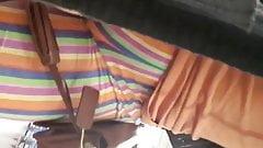 Ebony candid cameltoe