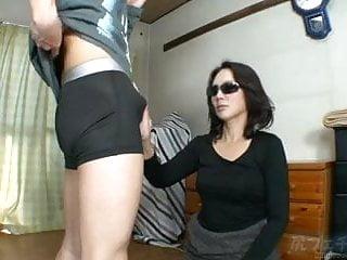 Clips of asians fucking - Asian tease panty assjob clip 2
