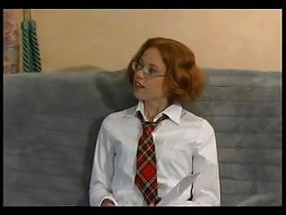 Paladin coax stripper - Nerdy redhead coaxes a load from old dude