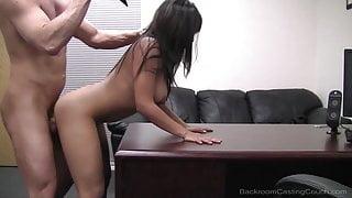 Pussy Plowed Cutie Lena Gets Her Hairy Honeypot Mega Fucked!