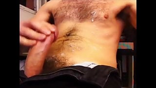 A lot of wank and cum part 4