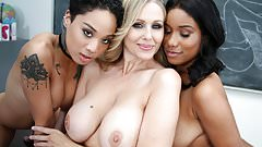 Лесбиянка Honey Honey, Jenna Foxx и Julia Ann