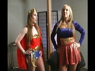 Femdom web site submission - Submission of wonder woman to super girl