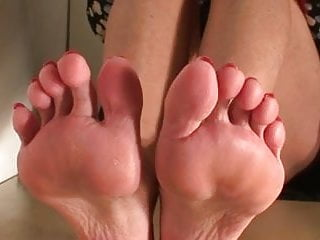 Fetish model pupett Sexy turkish milf soles and toes modelling