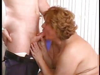 Vintage aunt fucking nephew slutload - Mature fat aunt fucks with her nephews buddy