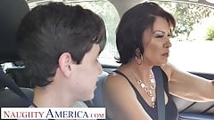 Naughty America - Mrs. Fuller (Vanessa Videl) teaches Juan how