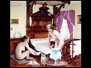 Antique and vintage postcards - Antique nudes--the edwardians