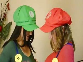 Mario bros hentai Super mario sisters