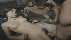 Rebels have fun with two gorgeous female captives