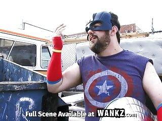 Hand assembly jobs outsourced Assvengers porn parody - episode iii: assvengers assemble