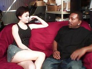 Teens videos black dick free Petite brunette gets fucked in all positions by huge black dick