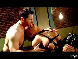 Muscle and erotic - Shyla stylezs hard and erotic fuck