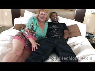 Mature granny passwords - 50 yr old mature granny horny black cock in interracial vid