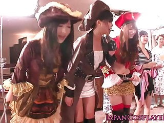 Jenna jane pirate sex clip Cosplay japanese pirate lady squirts during orgy
