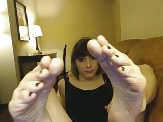 Teen girls beauty - Emo transgender teen girls beautiful feet tease ada black