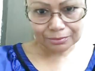 Vulva puppet Vieja dominicana de 59 - se le marca la vulva. toto grande