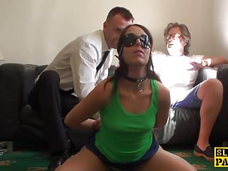 Daddy dom bdsm videos - Spanked uk sub fed a mouthful of doms cum