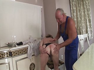 Dick blick buys artist and craftsman Craftsman fucks grandmas old ass