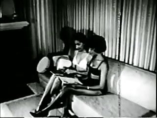 Teraz films bondage Black girls in 1960s spanking-bondage sm fetish stag film