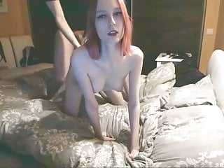 Real wife fuck uk - Skinny redhead wife fuck in real homemade. cum on small tits