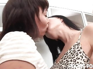 Interracial licking asshole Naughty lesbians love licking asshole