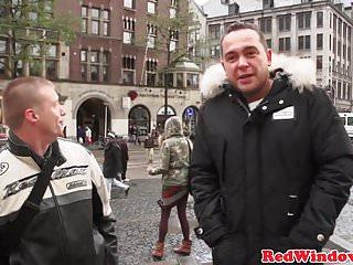 Amsterdam prostitute fucked Amsterdam prostitute gets cumshowered