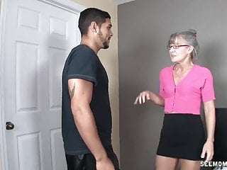 Granny sucks video - Horny granny sucks a young dick