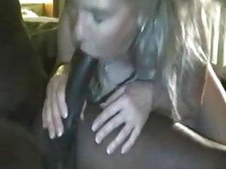 Cuckold husband sucks tube - Amateur blonde sucks fucks bbc while cuckold husband films