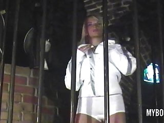 Club in miami night teen - Ines in this new year dance in night club