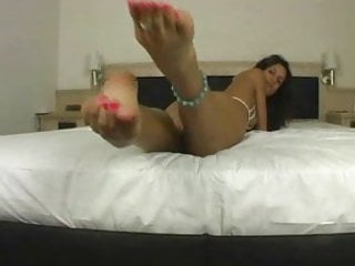 Mom sexy bikini - Sexy bikini, feet and leg tease, hot anklet....