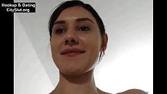 Sexy Brunette Slut on Webcam