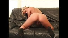 Busty Blonde Mary Masturbating